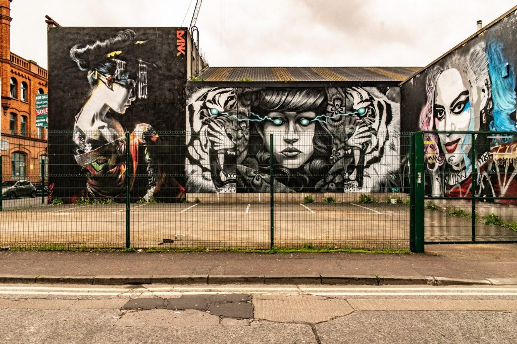 street-art Belfast