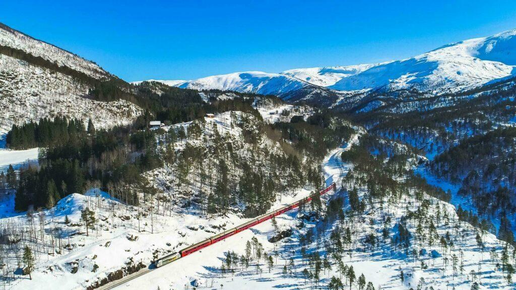 train Norvège