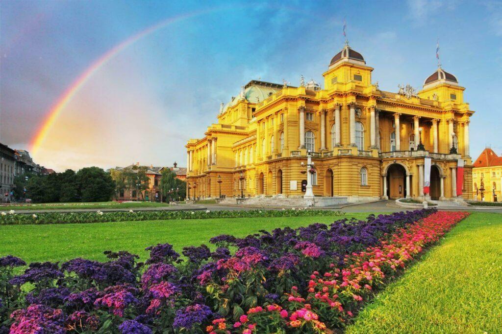 Zagreb théâtre National