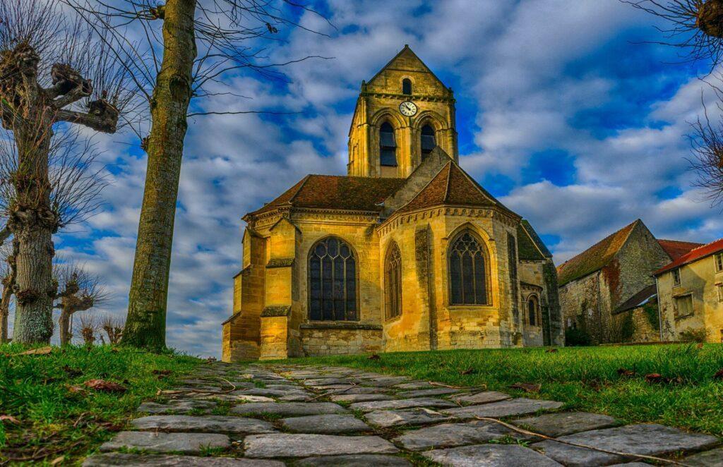 Eglise de Notre Dame Auvers sur Oise-autour-de-paris