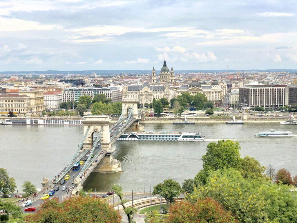 Budapest, vue imprenable sur la ville