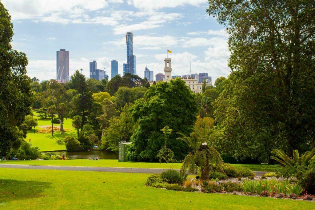 jardin botanique Melbourne