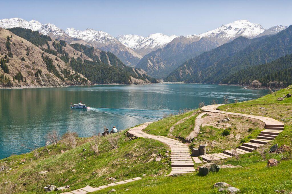 lac Tianchi en Chine