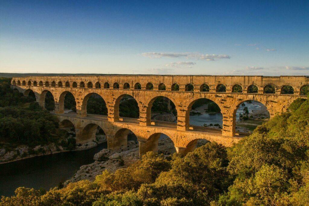 Le Pont du Gard proche Avignon