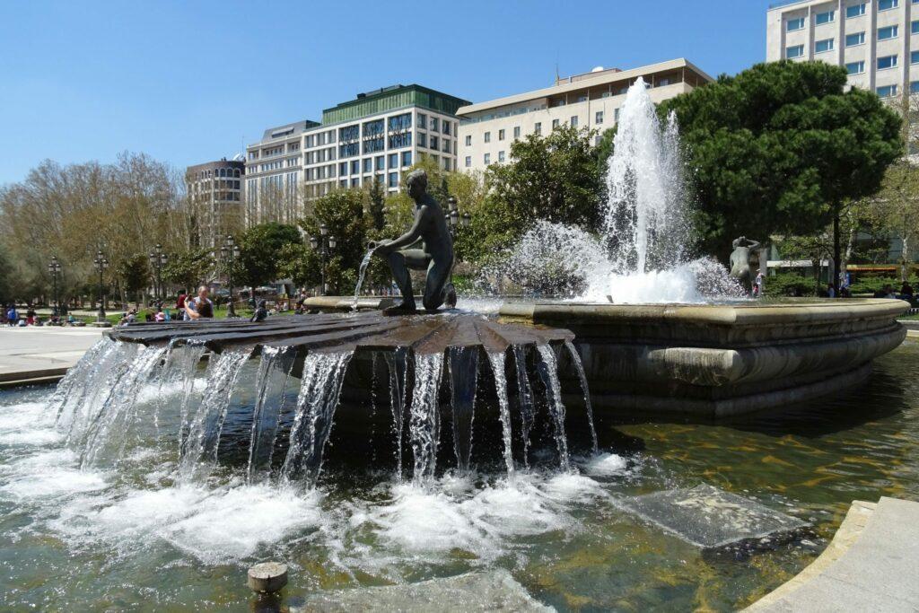 Madrid, Plaza de Espana