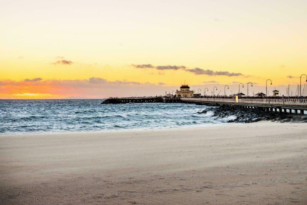 plage saint-Kilda