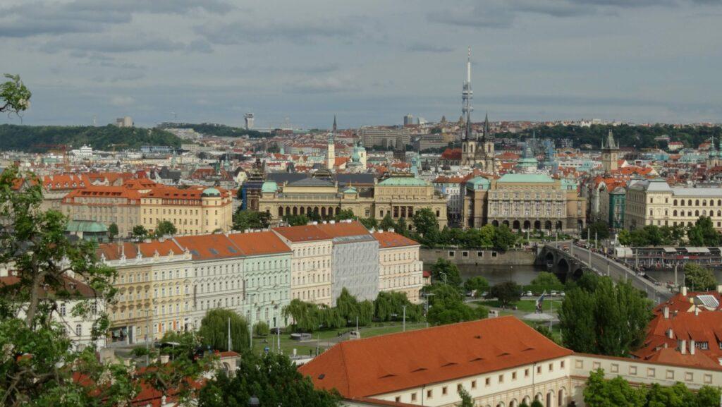 Prague, vue imprenable sur la ville