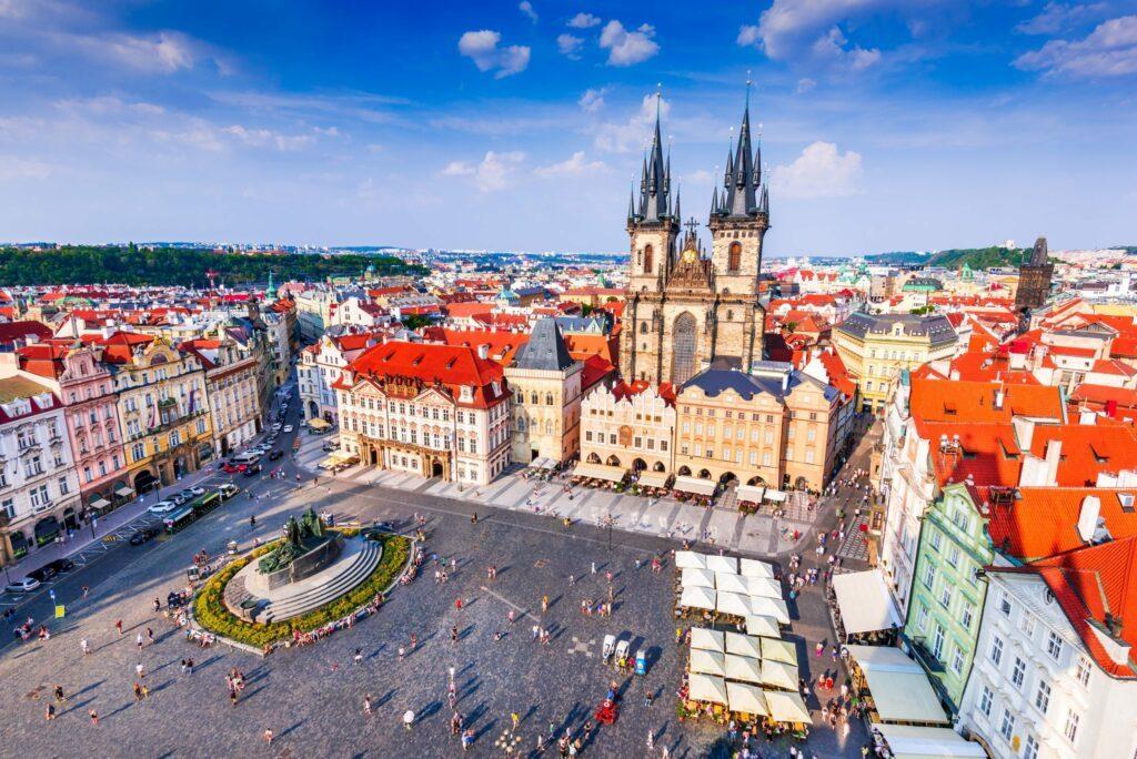 quartier Mesto à Prague