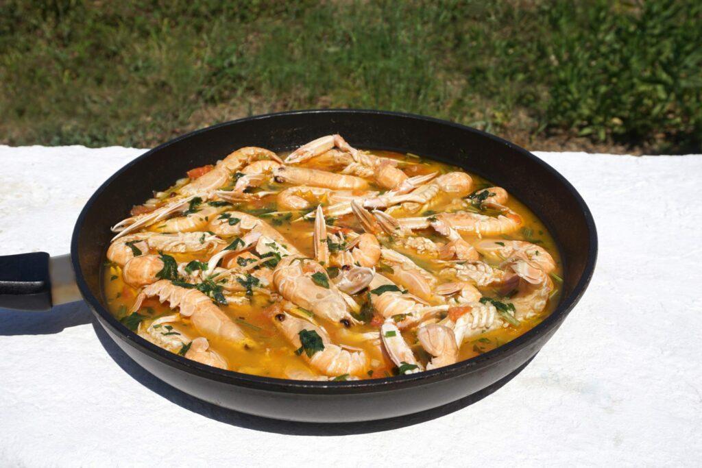 ragoût de crevettes croate