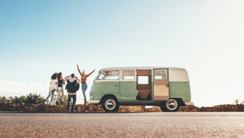 Road trip van vacances en France
