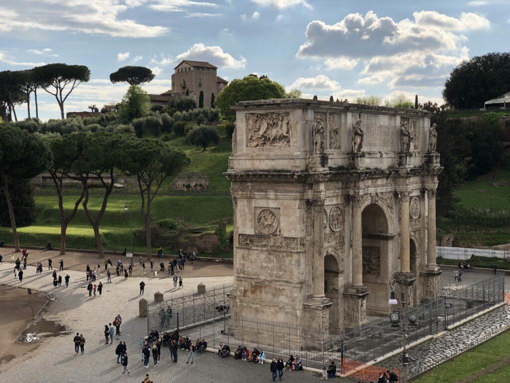 Rome, Arc de Constatin