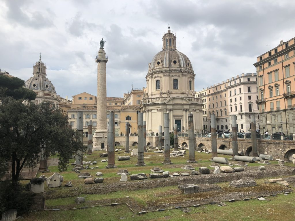 Rome, ruine antique