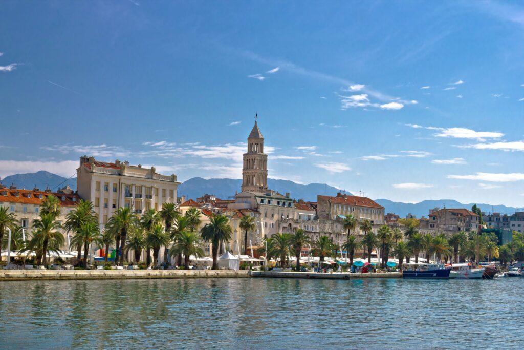 vue du palais Dioclétien de Split