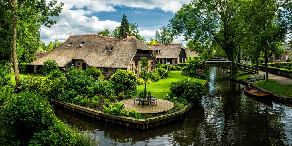 Giethoorn Pays-Bas