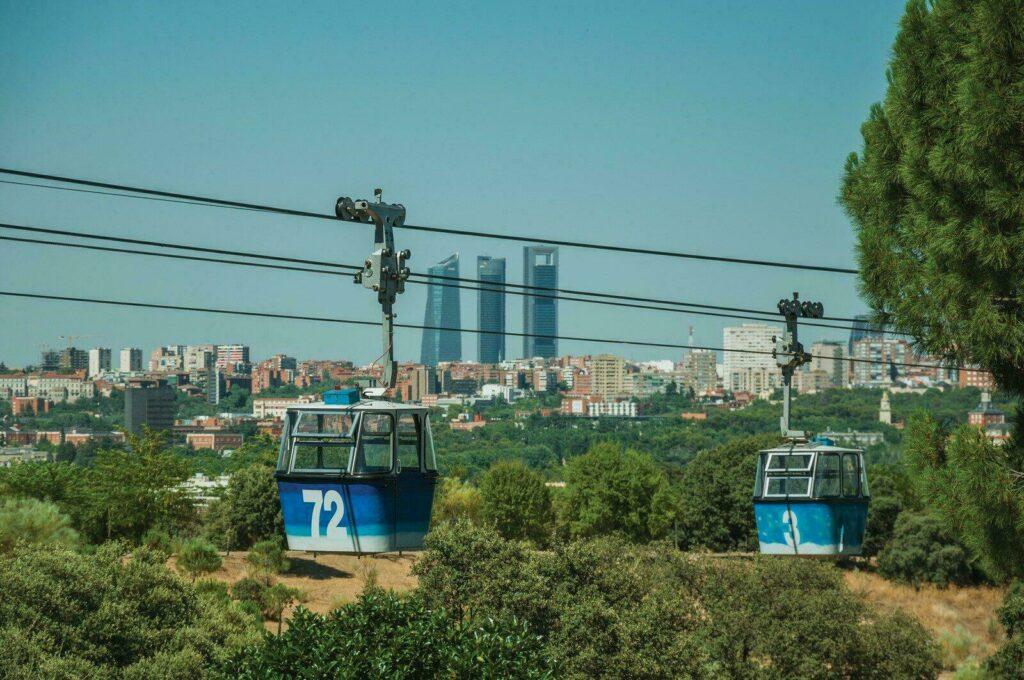 Madrid et son Téléphérique