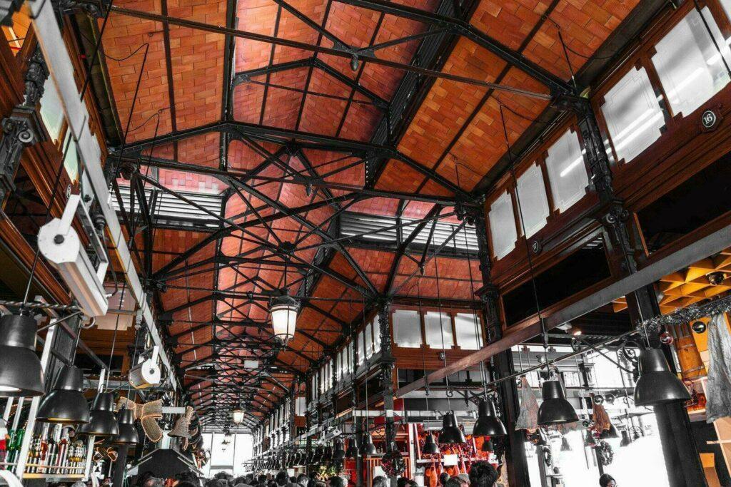 Intérieur du Mercado San Miguel
