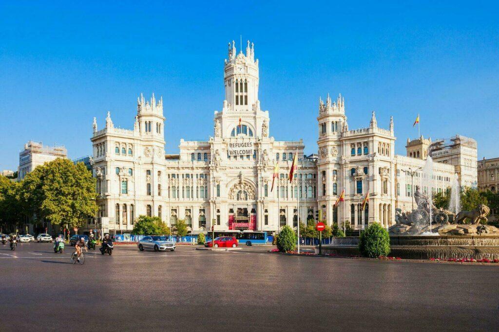 La mairie de Madrid, le Palacio de Cibeles