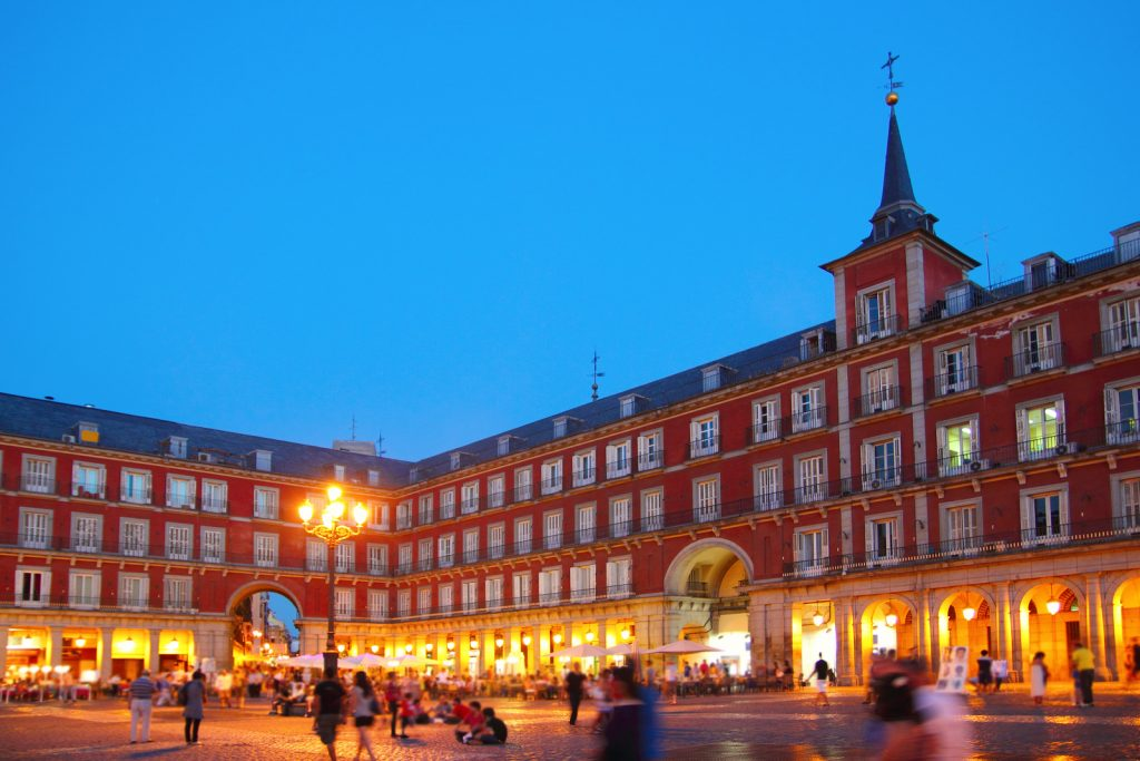 La place centrale : Plaza Mayor