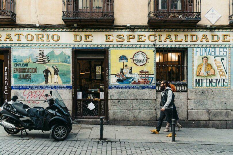 Rue du quartier de Malasaña
