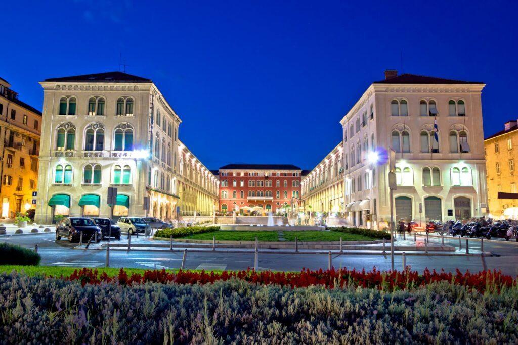Place de la République à Split