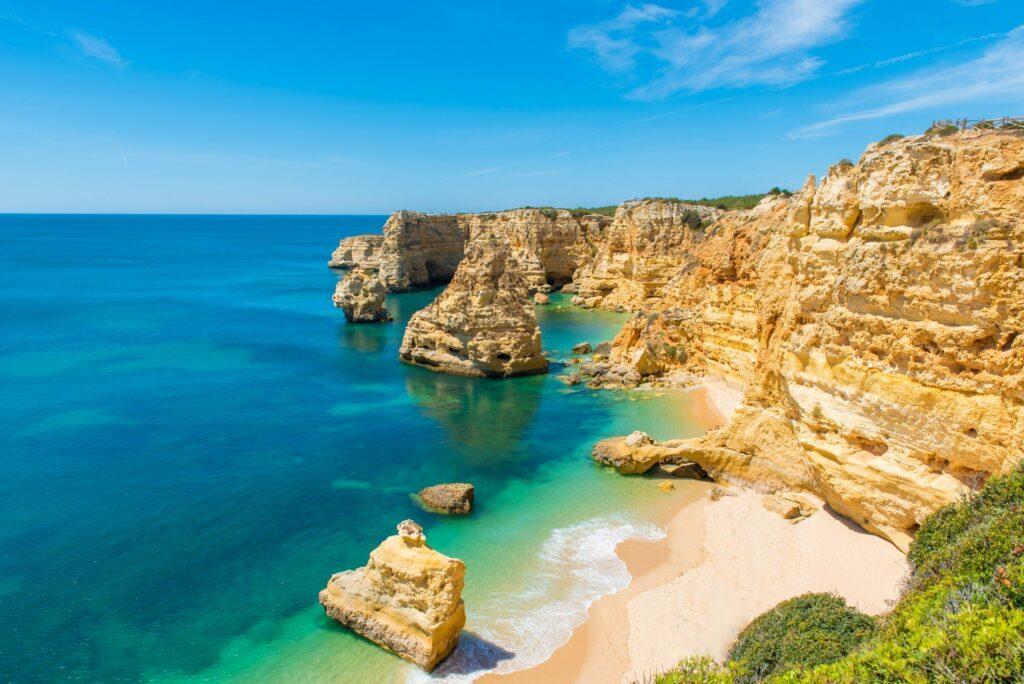 plage Marinha Algarve