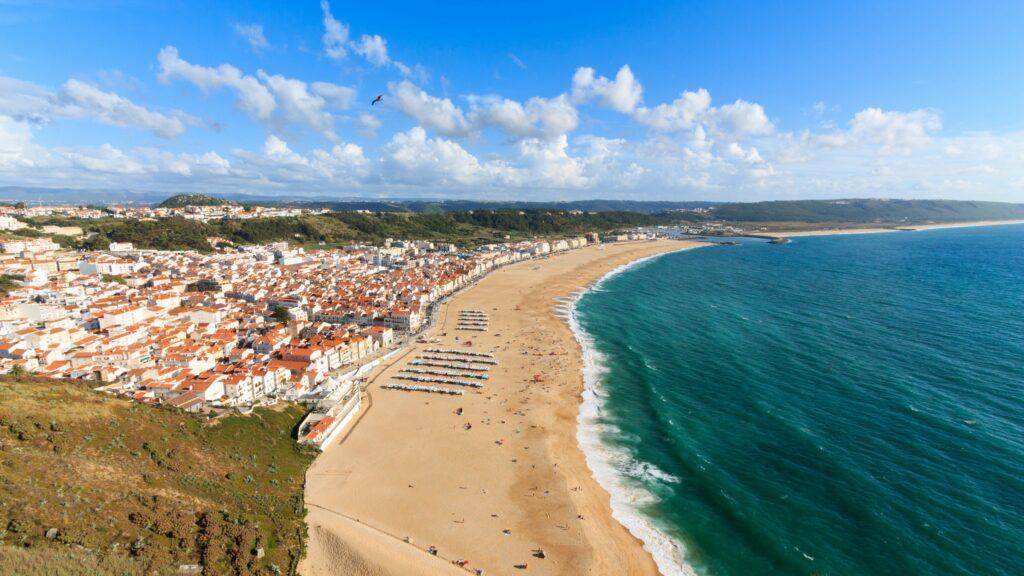 Plage Nazare Portugal