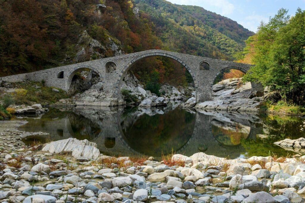 pont montagnes Rhodopes