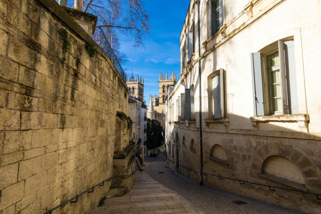 ruelles de Montpellier