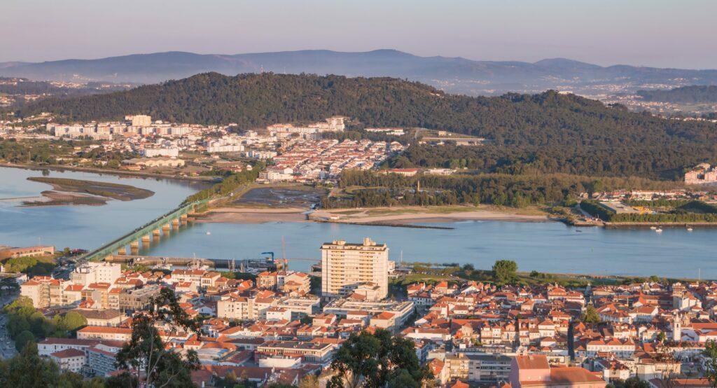 Viano Do Castelo au nord du Portugal