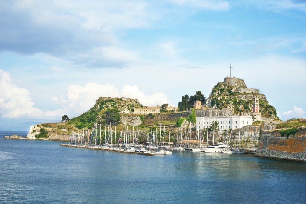 vieux fort Corfou