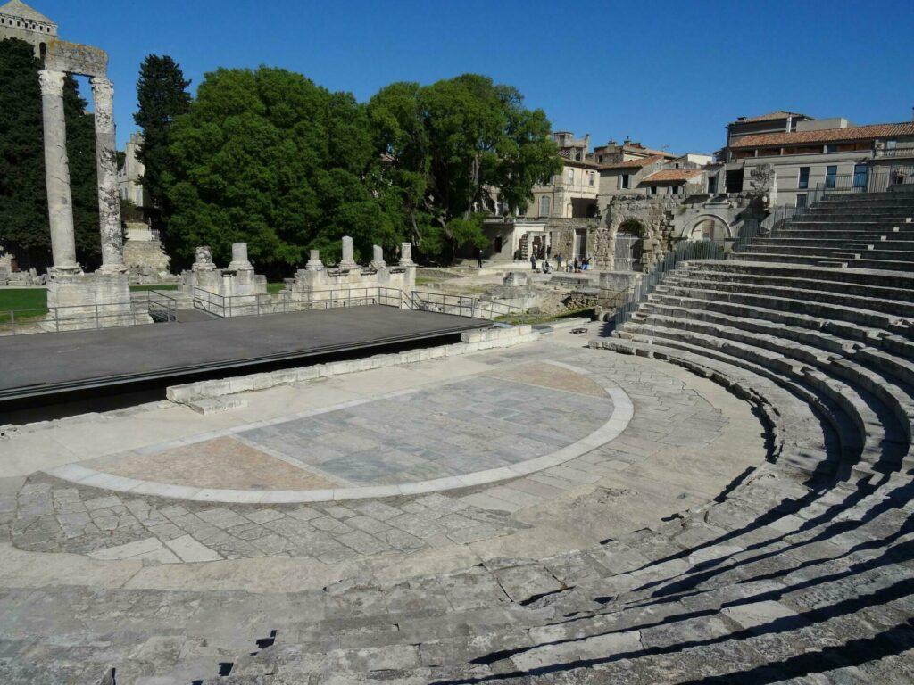 Théâtre antique d'Arles, en Provence-Alpes-Côte d'Azur