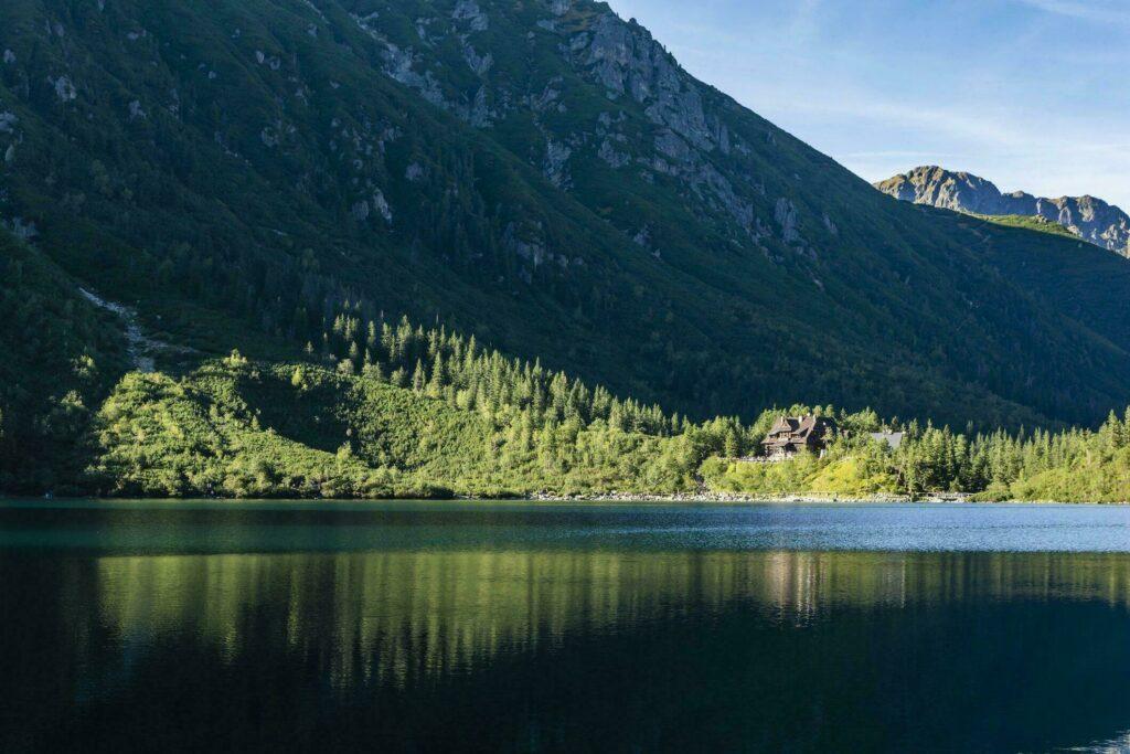 Chalet lac Pologne