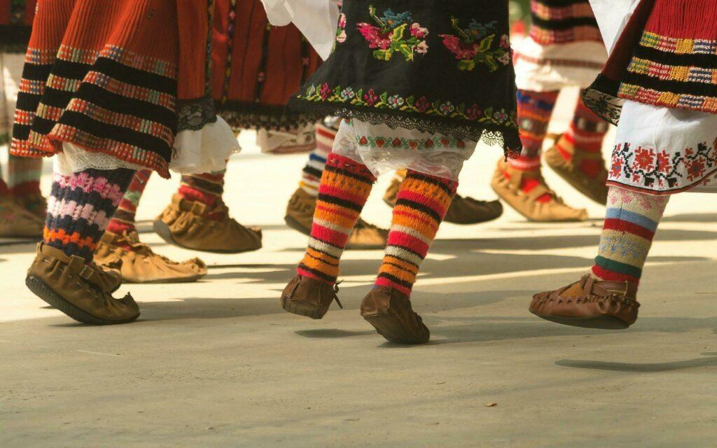 danse bulgare à Sofia