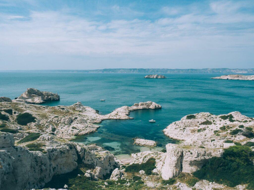 L'île du Frioul près de Marseille