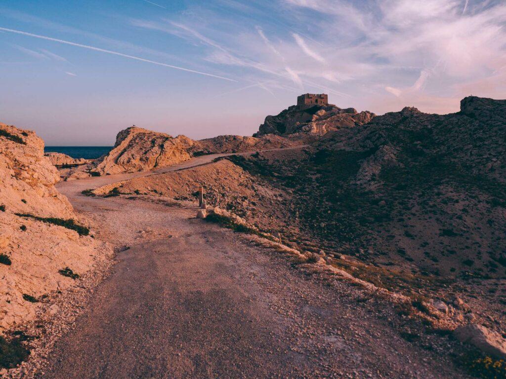 L'île du Frioul près de Marseille, encore un bijou de la région Provence-Alpes-Côte d'Azur