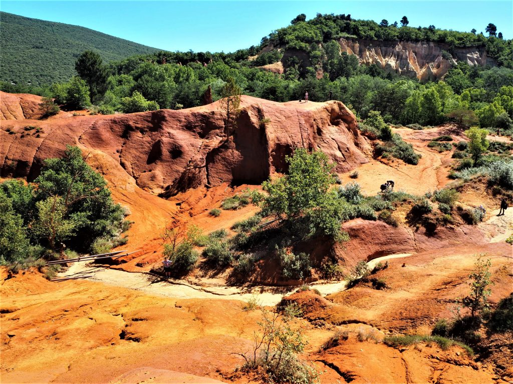 Le Colorado provençal en Provence-Alpes-Côte d'Azur