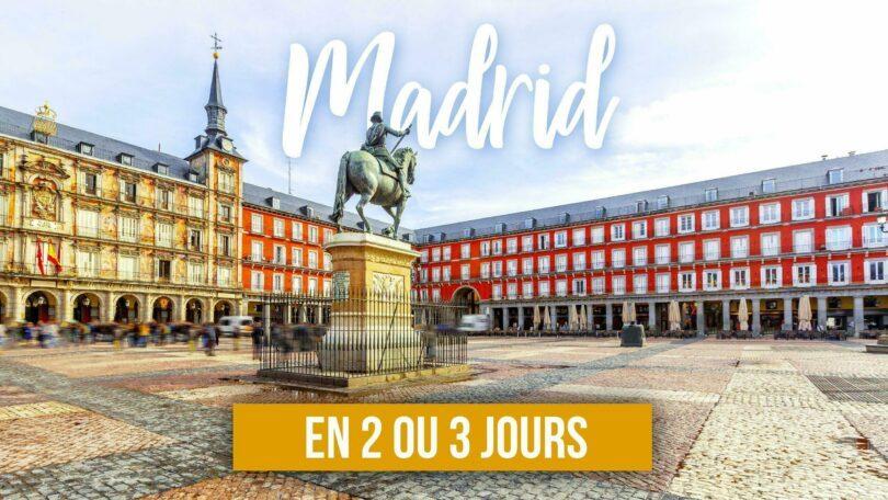 Madrid en 3 jours Vidéo