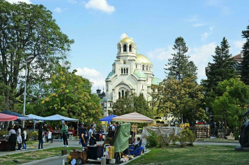 marché aux puces de Sofia