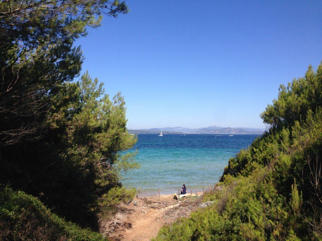 L'île de Porquerolles en Provence-Alpes-Côte d'Azur