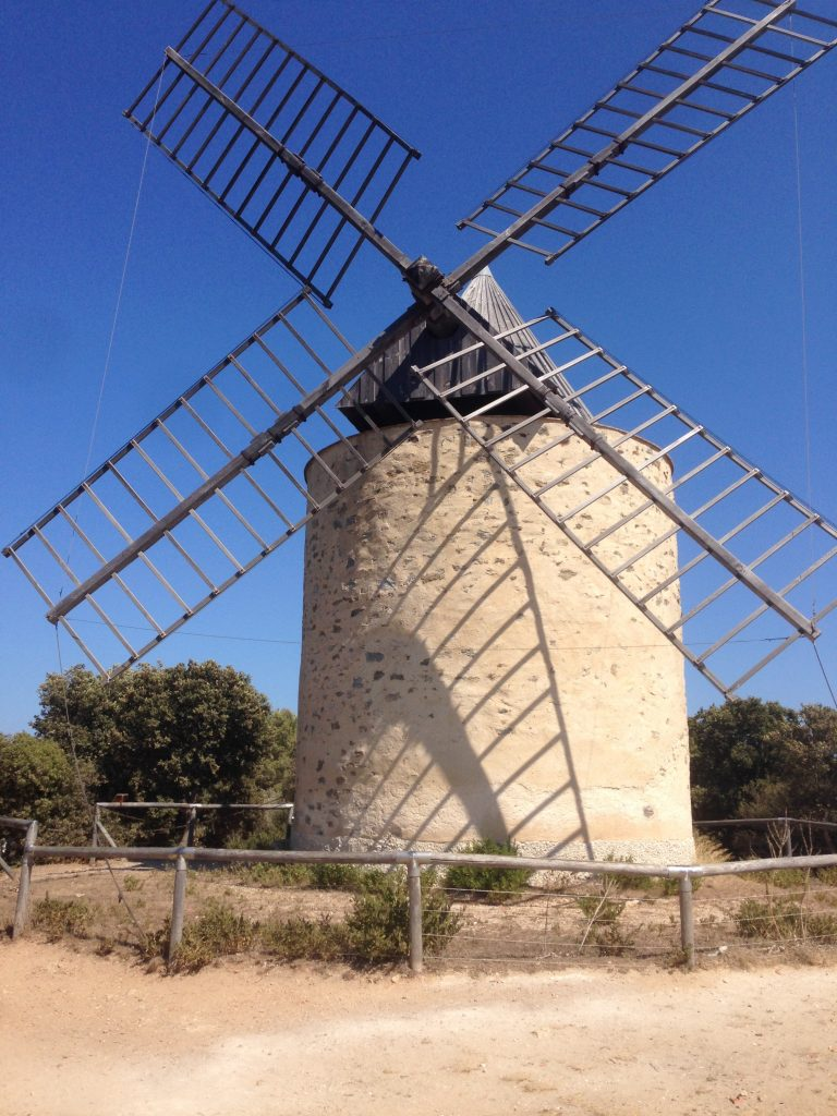 Moulin sur l'île de Porquerolles