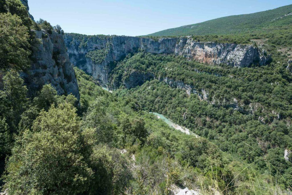 Randonnée dans les gorges du Verdon