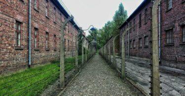 Le camp d' Auschwitz-Birkenau à faire pour du tourisme de mémoire
