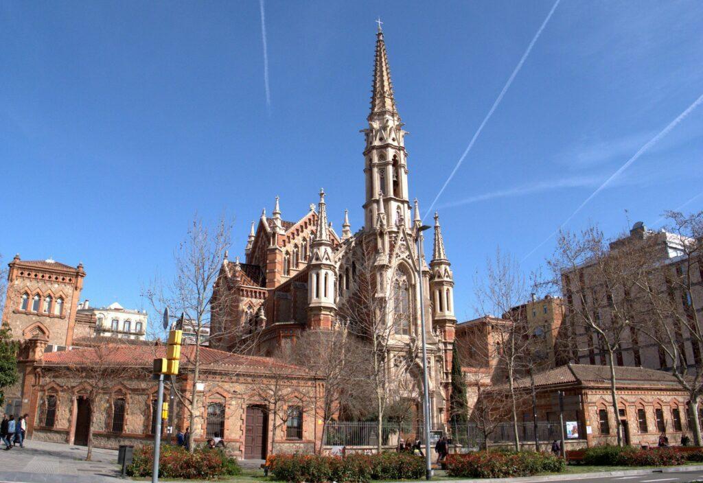 Barcelone église Saint-François-de-sales