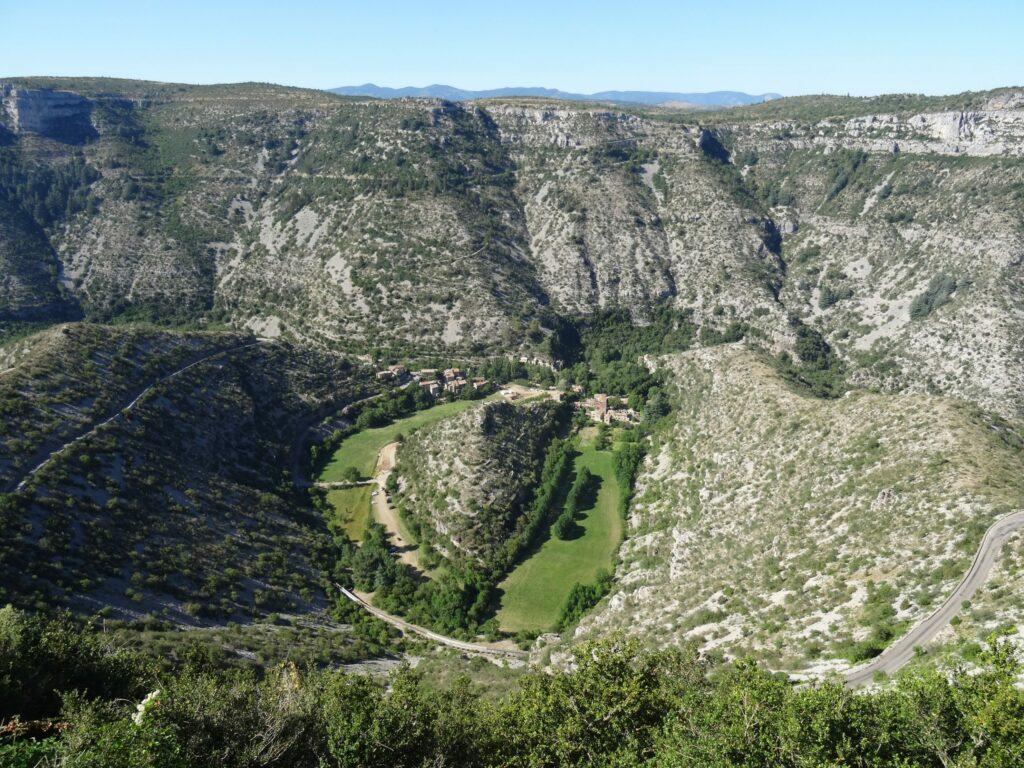 Le Cirque de Navacelles à découvrir dans le département de l'Hérault
