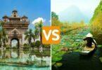 Laos ou Vietnam