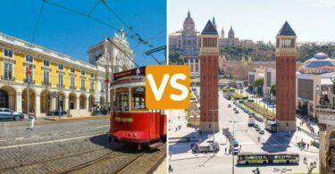 Lisbonne ou Barcelone