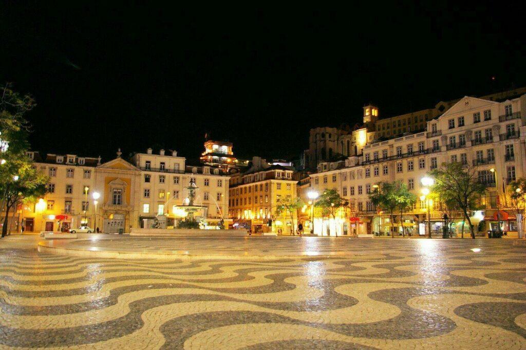 Place Don Pedro IV, Lisbonne