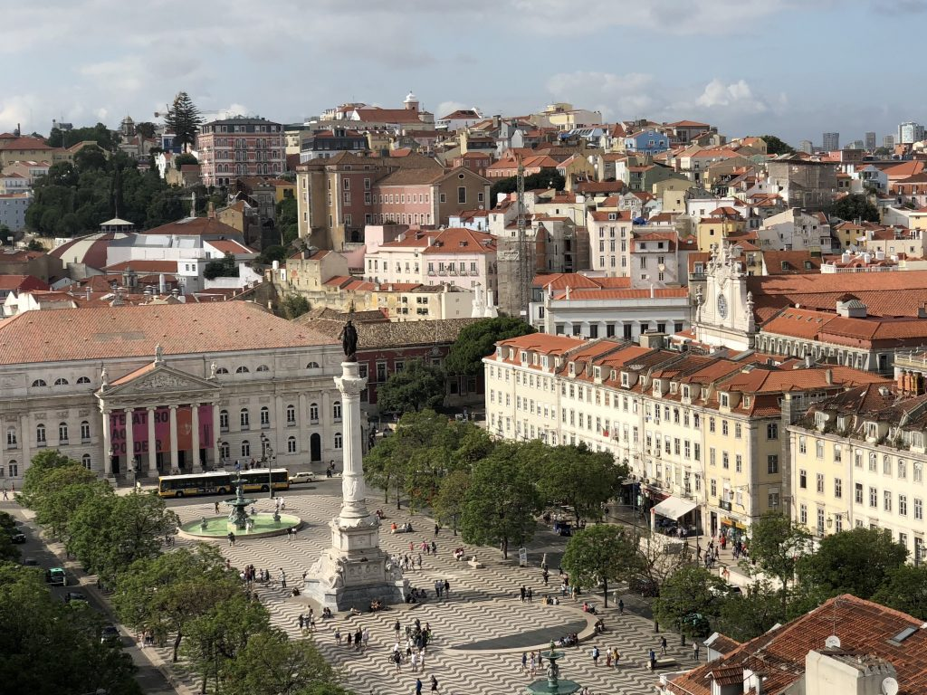 Place Rossio, Lisbonne