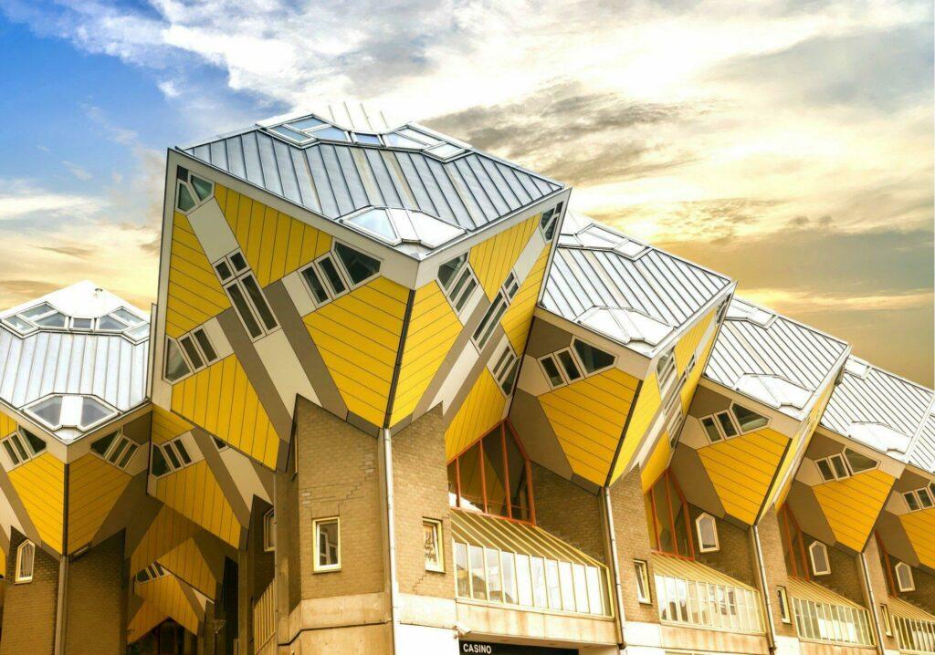 maisons cubes