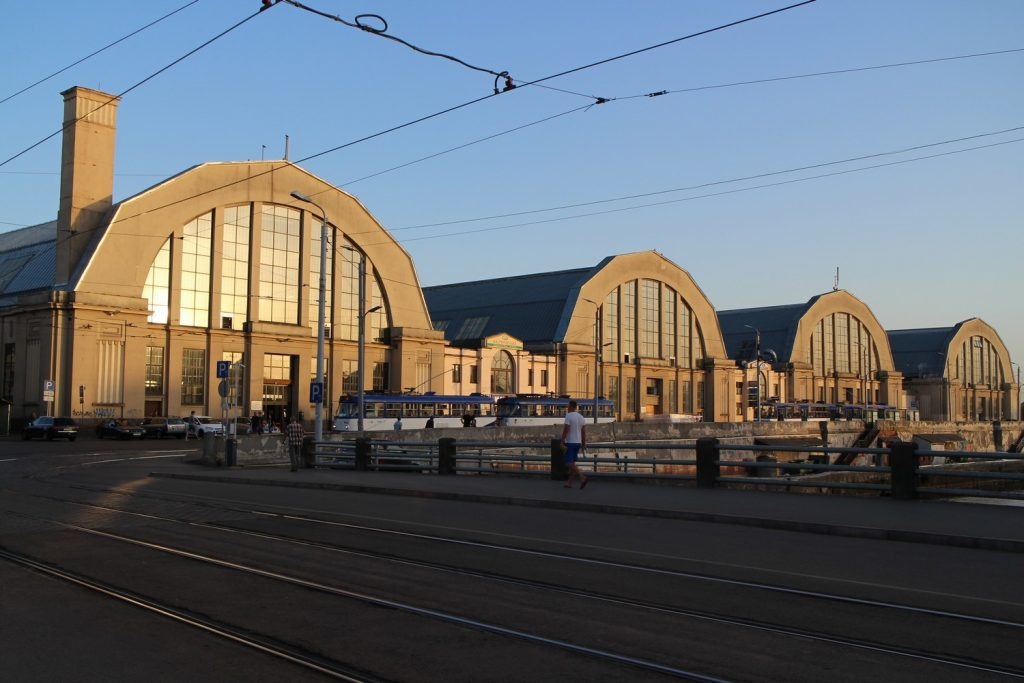 marché central Riga